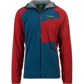 La Sportiva Run Running Jacket Men red/blue
